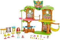 Enchantimals Figuurit Junglewood Cafe & Peeki Parrot
