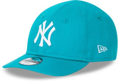 New Era League Essential 9FORTY INF NEYY Lippalakki, Teal/Optic White