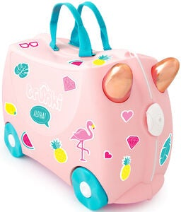 Trunki Flossi The Flamingo Matkalaukku 18L, Light Pink