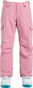 Burton Girls Elite Cargo Toppahousut, Sea Pink