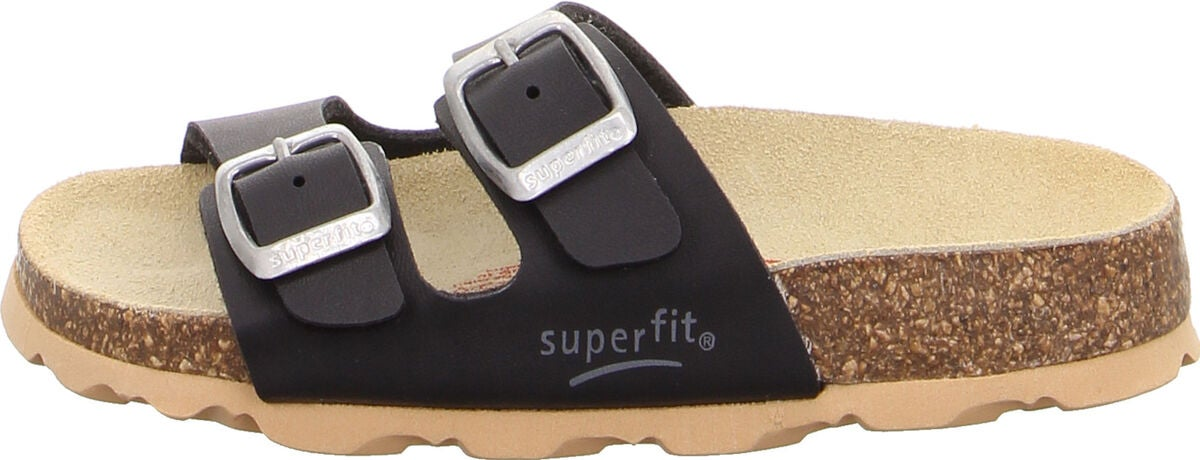 Superfit Fussbett Kengät, Black