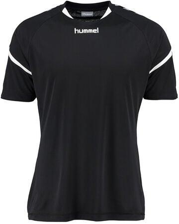 Hummel Auth. Charge SS Poly Treenipaita, Musta
