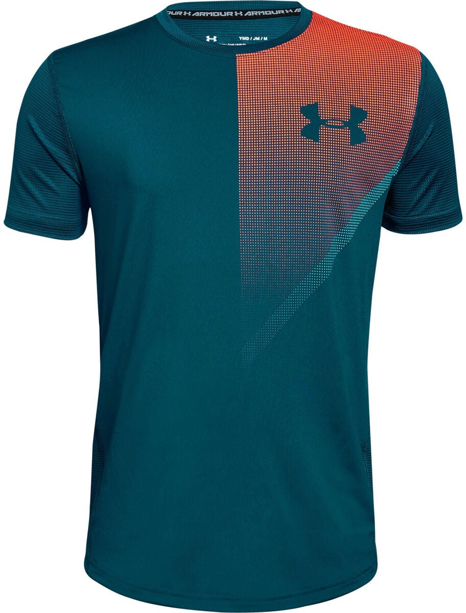 Under Armour Raid SS T-Paita, Techno Teal