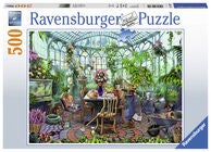 Ravensburger Palapeli Greenhouse Mornings 500