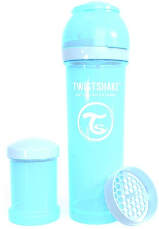Twistshake Anti-Colic 330 ml Tuttipullo, Sininen