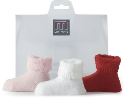 Melton Terry Sukat 4-Pack, Red