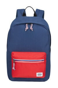 American Tourister Upbeat Zip Reppu 19.5L, Navy/Red