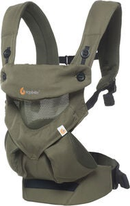 Ergobaby 360 Cool Air Mesh Kantoreppu, Khaki Green