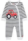 Tom Joule Winfield Jumpsuit, White Navy Tractor