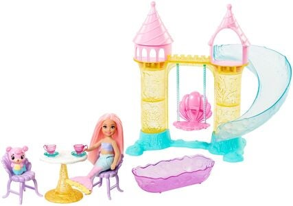 Barbie Dreamtopia Nukke Chelsea Mermaid Leikkisetti