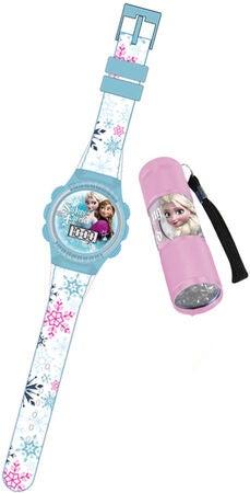 Osta Disney Frozen Rannekello ja Taskulamppu  57ecc71691