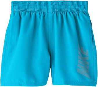 Nike Swim Logo Solid Uimashortsit, Light Blue Fury