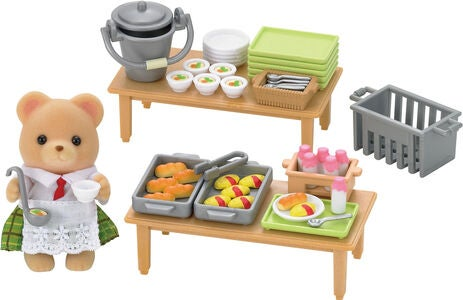 Sylvanian Families Leikkisetti School Lunch Set