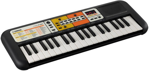 Yamaha PSS-F30 Keyboard Mini, Musta