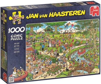 Jumbo Palapeli Jan van Haasteren The Park 1000