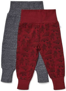 Luca & Lola Willow Housut 2-pack, Red
