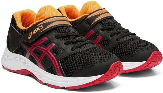 Asics Contend 5 PS Lenkkarit, Black/Speed Red