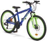 Impulse Premium Dread Mountainbike 24 tuumaa, Blue/Green