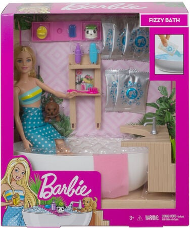 Barbie Wellness Nukke Bathtub