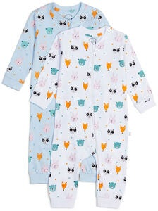 Luca & Lola Fiore Pyjama 2-pack, Animals