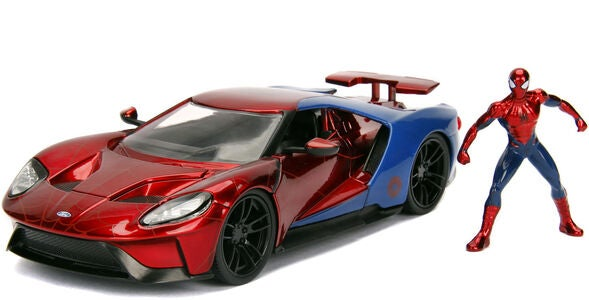 Marvel Spider-Man 2017 Ford GT + Figuuri