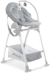 Hauck Sit N Relax 3-in-1 Syöttötuoli, Stretch Grey