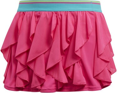 Adidas Girls Frilly Skirt Tennishame, Pink
