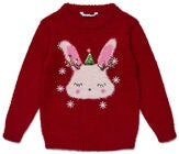 Luca & Lola Paita Winter Bunny, Red