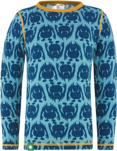 Vossatassar Monsterull Paita, Dark Blue