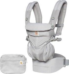 Ergobaby Omni 360 Kantoreppu Cool Air, Pearl Grey