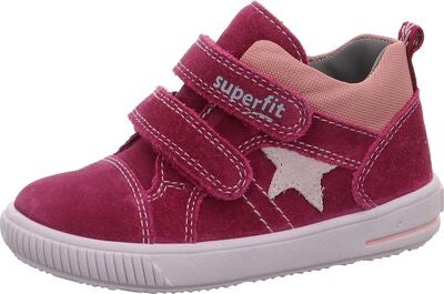 Superfit Moppy Tennarit, Red/Grey/Lilac