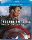 Marvel Avengers Captain America Blu-Ray 2D + 3D