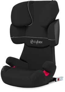 Cybex Solution X-Fix Turvaistuin, Pure Black