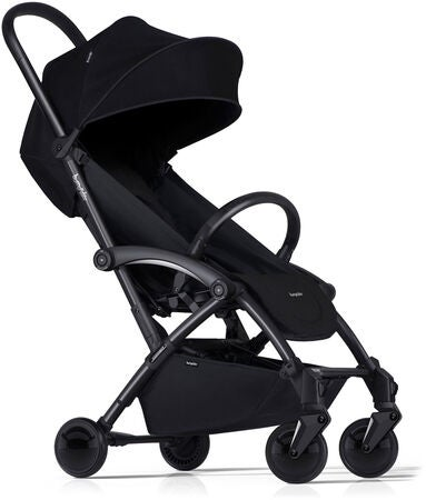 Bumprider Connect Lastenrattaat, Black/Black