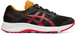 Asics Contend 5 GS Lenkkarit, Black/Speed Red