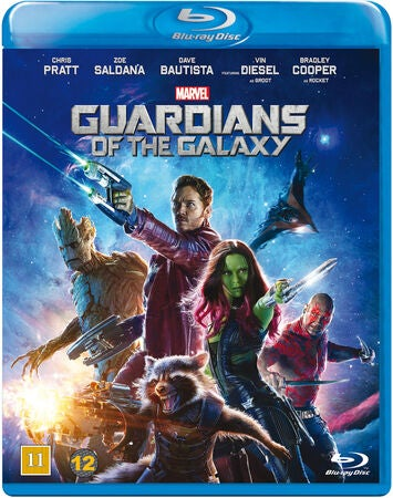Marvel Guardians Of The Galaxy Blu-Ray