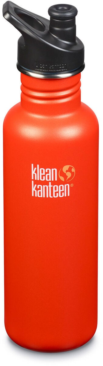 Klean Kanteen Classic Sports Cap Juomapullo 800 ml, Sierra Sunset