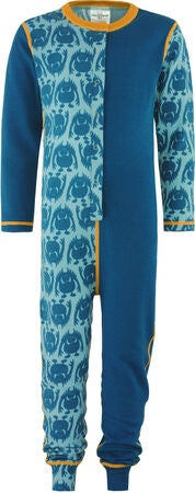 Vossatassar Monsterull Jumpsuit, Dark Blue