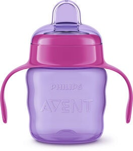 Philips Avent Classic Nokkamuki 200 ml, Purple/Pink
