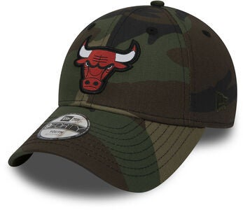 New Era 9Forty Kids Chicago Bulls Lippalakki, Camo