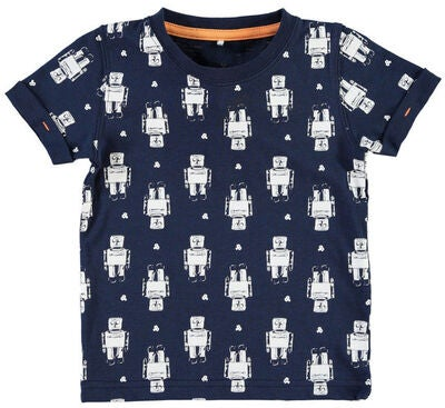 Name it Mini T-paita Teddyson, Dress Blues