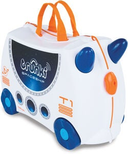 Trunki Skye The Spaceship Matkalaukku 18L, White