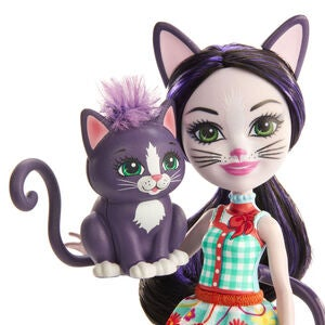 Enchantimals Ciesta Cat Nukke & Climber Figuuri