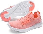 Puma Ignite Flash Evoknit Metallic Jr Tennarit, Pink