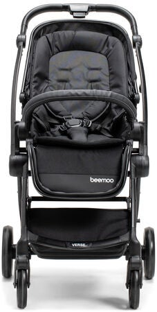 Beemoo Easy Fly Verse Lastenrattaat, Black