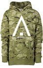 Wearcolour Patch Hoodie Huppari, Forest