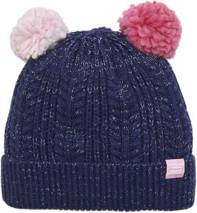 Tom Joule Double Pom-Pom Pipo, Navy