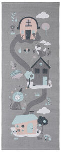 Alice & Fox Matto Houses, Grey