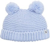 Tom Joule Double Pom Pom Pipo, Sky Blue