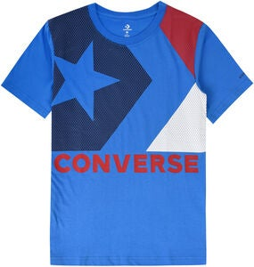 Converse Chevron T-Paita, Totally Blue